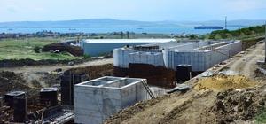 Lapseki'de Atık Su Arıtma Tesisi çalışmaları devam ediyor