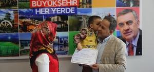Geyve SGM'de sertfikalı çocuk eğitimi