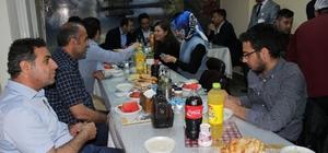Kaymakam Dündar sağlık çalışanlarıyla iftar açtı