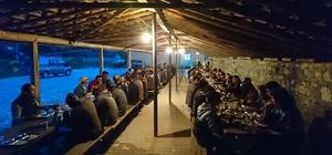 İnönü'de iftar programları devam ediyor