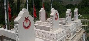 Sason'da Şehit Mezarlığı yenilendi