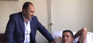 Başkan Sarıoğlu'dan Finikeli Hastalara ziyaret