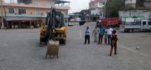Karpuzlu Belediyesi Tekeler'e kapalı pazar yeri kazandırıyor