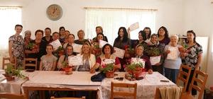 Urla'da kadınlara yönelik takı kursu ve liderlik eğitimi