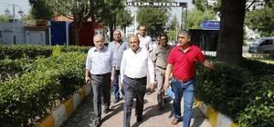 Başkan Arslan site yönetimleriyle bir araya geldi