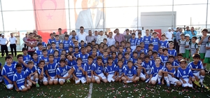 Sarıçam'da çocuklar yaz spor okullarında buluşuyor