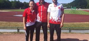 DÜ'lü atletlerinden 4 madalya