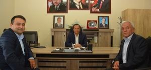 Giresunluların yeni yönetimi Başkan Toltar'ı ziyaret etti