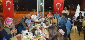 Manavgat Emniyetinden şehit aileleri ve gazilere iftar yemeği