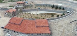 Nevşehir'de spor kondisyon merkezi yapımı devam ediyor