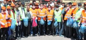 Çaldıran'da temizlik kampanyası