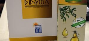 Didim Belediyesi serasında üretilen ürünler mecliste tanıtıldı