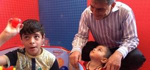 Kaymakam Özkan'dan Engelliler Eğitim ve Oyun Evine ziyaret