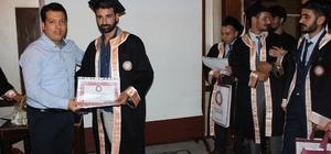 Samandağ MYO'da diploma sevinci