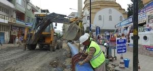 MESKİ, Anamur'un içme suyu şebekesini yeniliyor