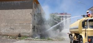 Bingöl'de 1971 depremi sonrasında yapılan deprem konutları yıkılıyor