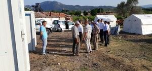 Depremzedelerin su ve kanalizasyon bağlantısı yapıldı