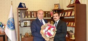 KİHL'den Başkan Arslan'a teşekkür ziyareti