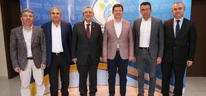 MHP Genel Başkan Yardımcısı Ayhan'dan Başkan Subaşıoğlu'na ziyaret