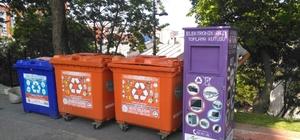 BEÜ'den atık elektronik eşya konteynırı