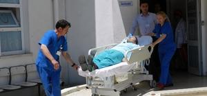 Görele Devlet Hastanesinde yangın tatbikatı yapıldı