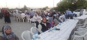 Yazıhan Belediyesi vatandaşlara iftar verdi