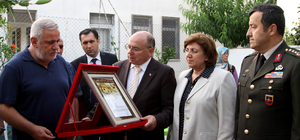 Muğla'da şehit ailesine şehadet belgesi verildi