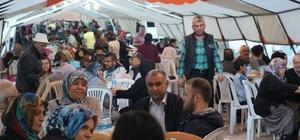 Başkan Şahin, orucunu Haceloğlu Mahallesi sakinleriyle açtı