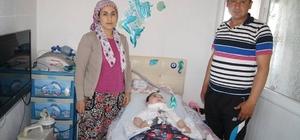 ozdoğan'da 5 yaşındaki Anıl Berk ölüm tehlikesi ile yaşıyor