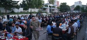 Kağızman'da toplu iftar yemeği
