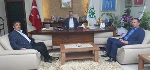 Başkan Akay'a tebrik ziyaretleri devam ediyor