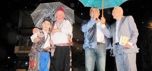 Hisarcık Belediyesinin Ramazan programına yağmur sürprizi