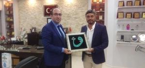 Sandıklı Belediye Başkanı Çöl'den, eski Başkan Elibol'a Ramazan ziyareti