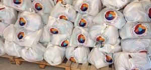 TOBB ve Sungurlu ticaret borsası'ndan gıda yardımı