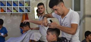 Başarı belgesi getiren öğrenciye ücretsiz tıraş