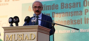 """Elvan: """"Yeni organize sanayi bölgelerinin açılmasıyla Mersin'in işsizlik ciddi anlamda çözülecektir"""""""