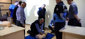 Güngören Belediyesi personeline ilk yardım eğitimi