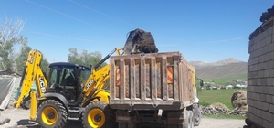 Çaldıran'da bir milyon tondan fazla çöp toplandı
