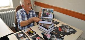 Yeşilçam'ın ünlülerini fotoğraf albümününde yaşatıyor