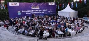 Beşiktaş Belediyesi tüm Türkiye'de Ramazan sofraları kuruyor