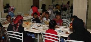 Müftülükten mültecilere iftar