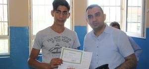 Silvan'da 27 bin öğrenci karne aldı