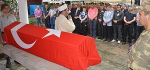 Kıbrıs gazisi Harç son yolculuğuna uğurlandı