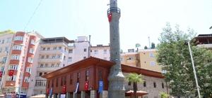Çayeli'ndeki tarihi Merkez Hacıbaşı Camii'nin restorasyon sonrası açılışı yapıldı