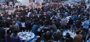 Derbent'te 2 bin kişi iftar sofrasında buluştu