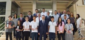 Aydın'da TEOG birincileri ödüllendirildi