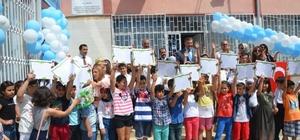 Mersin'de 375 bin öğrenci karne heyecanı yaşadı