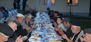 Sarıcailyas'da iftar bereketi