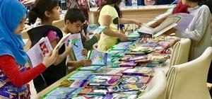Bismil'de 'Karneni getir kitabını götür' kampanyasına büyük ilgi
