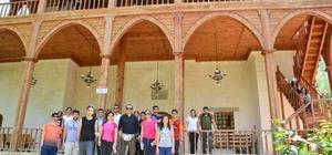 İnönü Üniversitesi öğrencilerinden Arapgir'e kamp